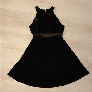 Honey and Rosie - Fit and Flare Black Dress